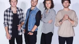 Gli One Direction, popolare boyband britannica