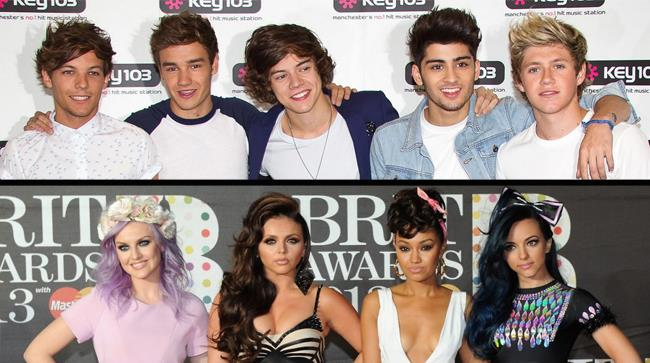Little Mix e One Direction
