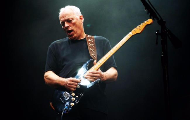 L'ex Pink Floyd, David Gilmour