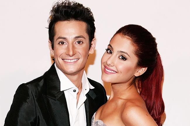 Ariana Grande con il fratello Frankie