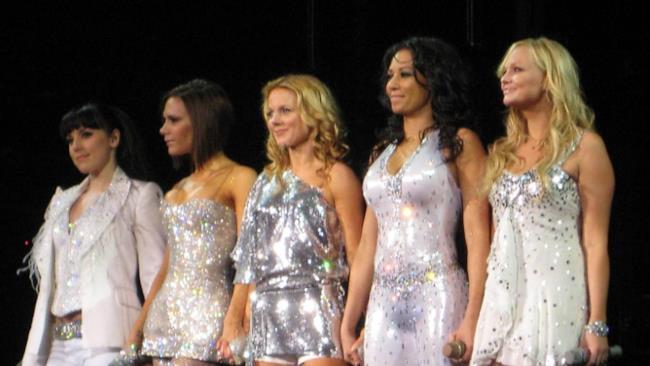 Le Spice Girls sul palco