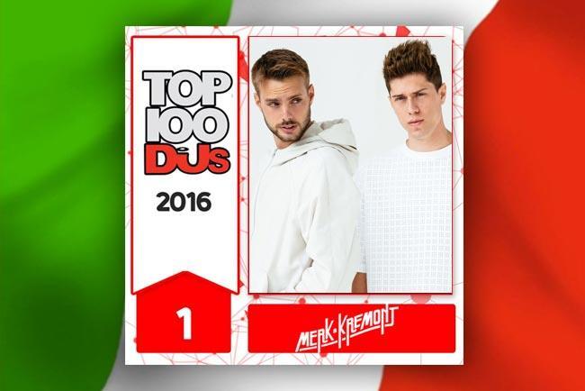 Merk & Kremont nella Top 100 DJs DJMag