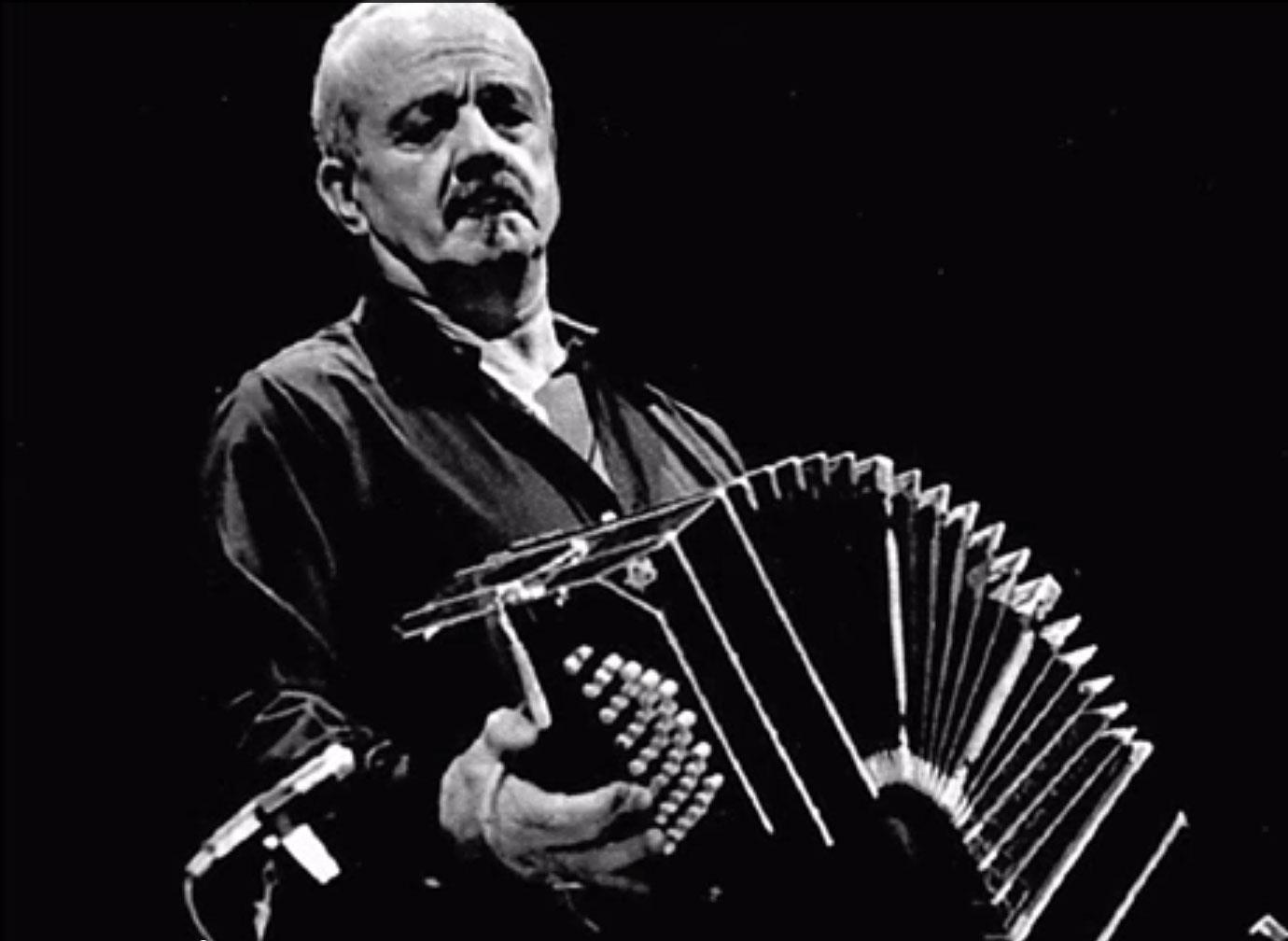 Il video di Astor Piazzolla Libertango