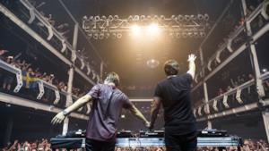 Il duo di dj svedesi Axwell /\ Ingrosso a New York