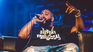 DJ Khaled dal vivo