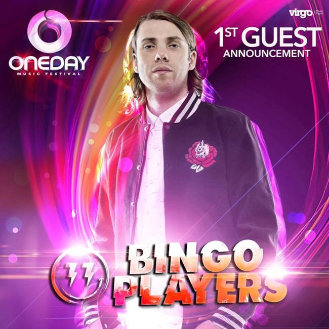 Il primo grande annuncio del OneDay Festival è stato Bingo Players