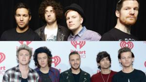 Fall Out Boy e One Direction