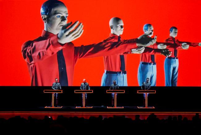La band tedesca Kraftwerk