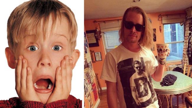 Culkin prima e dopo (oggi)