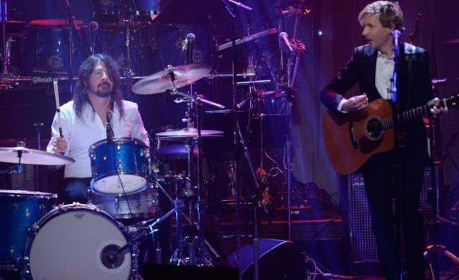 Beck e Dave Grohl