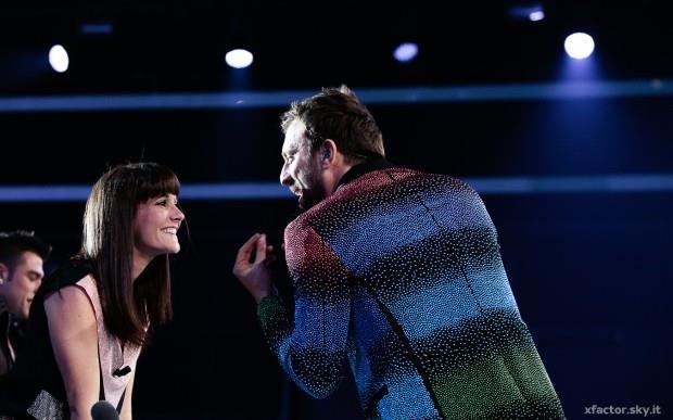 Cesare Creminini X Factor con Victoria Cabello