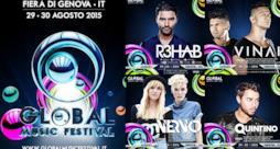 Global Music Festival headliners