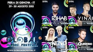 Global Music Festival headliners