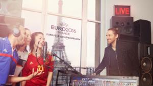 Campagna David Guetta UEFA 2016