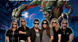 La heavy metal band Iron Maiden