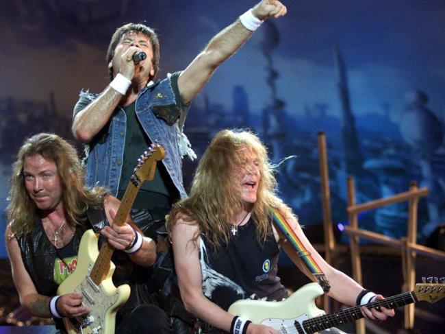 Gli Iron Maiden ai tempi del Brave New World Tour