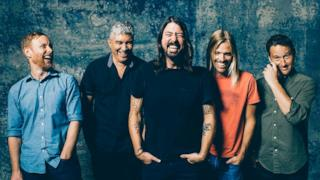 I Foo Fighters sul poster del Sonic Highways World Tour