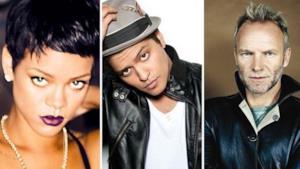 Live Streaming Grammy 2013: Rihanna si esibirà con Sting e Bruno Mars