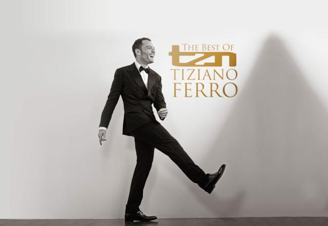 La cover di TZN - The best of Tiziano Ferro.