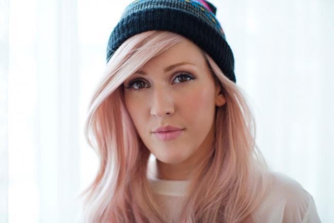 La cantante britannica Ellie Goulding
