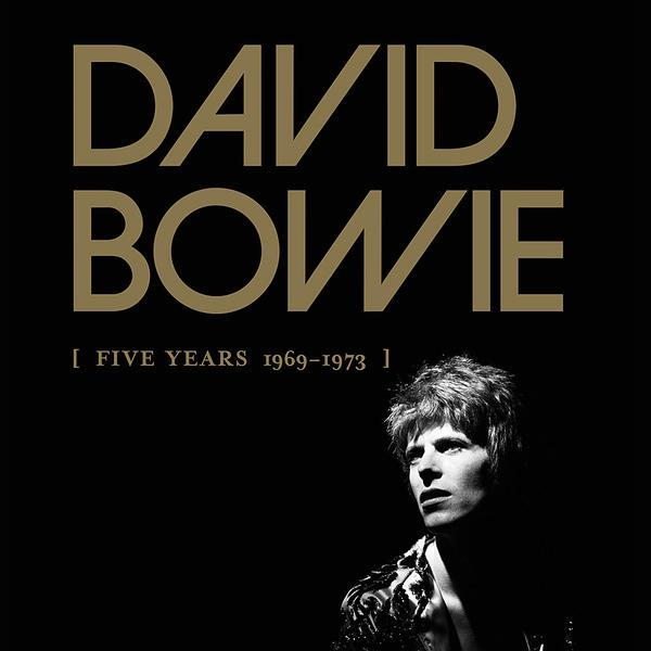 Copertina cofanetto Bowie five years