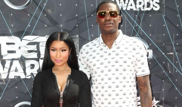 Meek Mill e Nicki Minaj insieme ai Bet Awards