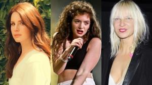 Lana del Rey, Lorde e Sia