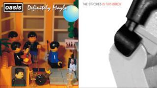 Le copertine degli album più famosi ricreate con i Lego