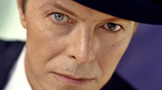 Primo piano di David Bowie