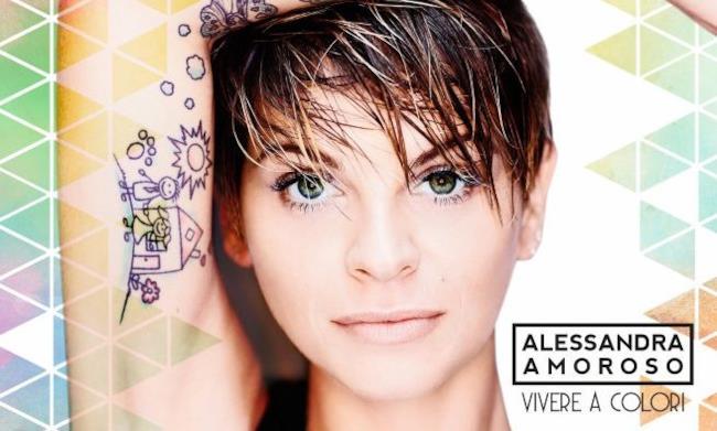 Alessandra Amoroso per Vivere a colori