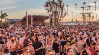 La baia di San Diego in California ha ospitato la prima edizione del CRSSD Festival.