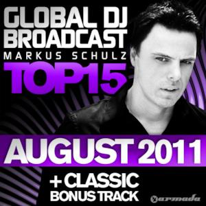Global DJ Broadcast Top 15 - August 2011