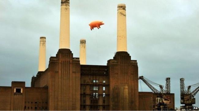 Algie sulla Battersea Power Station