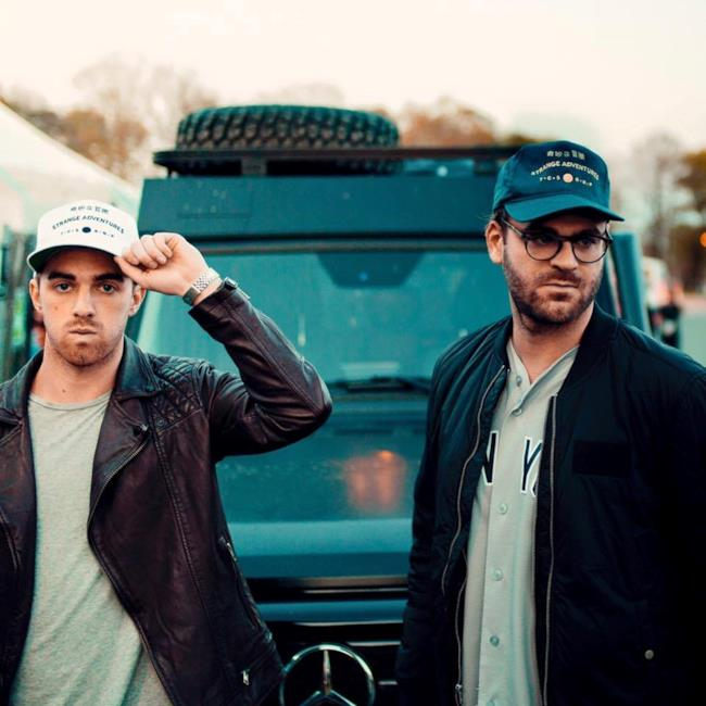 Il duo house The Chainsmokers