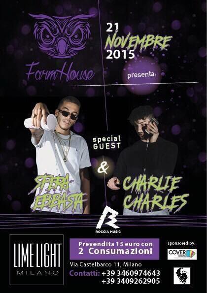 Sfera Ebbasta & Charlie Carles XDVR live