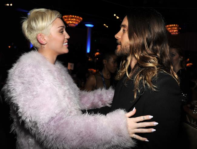 Miley Cyrus e Jared Leto insieme