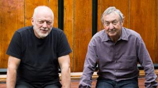 David Gilmour e Nick Mason dei Pink Floyd