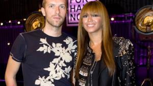 Beyoncé ed il leader dei Coldplay