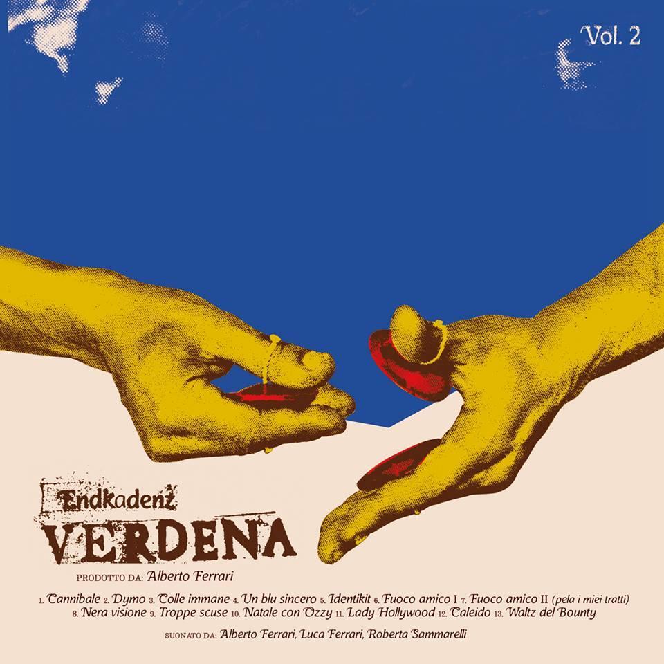 Verdena Endkadenz Vol. 2 copertina