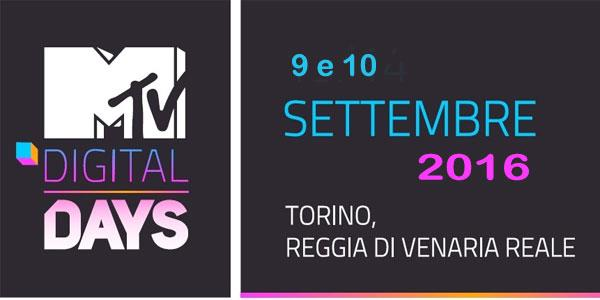 Digital Days Venaria 2016 MTV