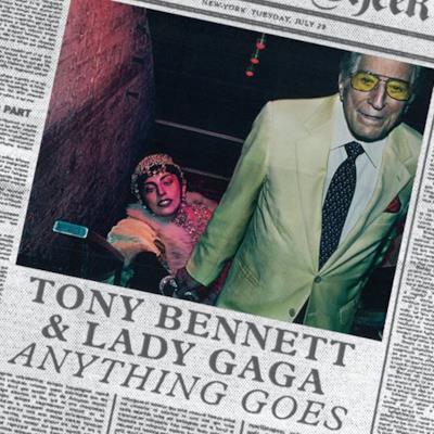 La  copertina di Anything Goes di Lady Gaga e Tony Bennett