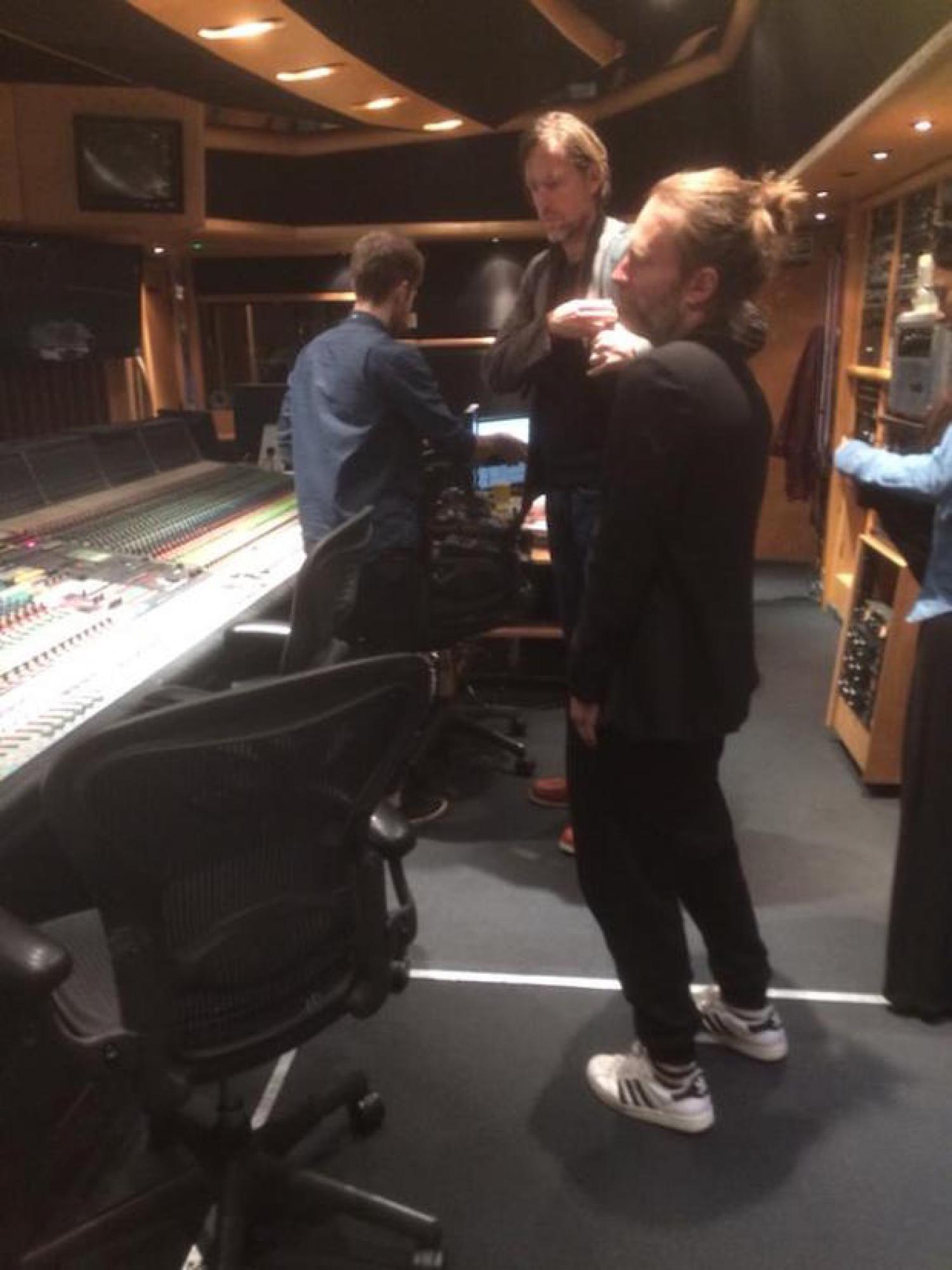 I Radiohead lavorano al nuovo album