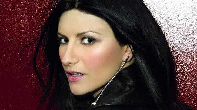 Primo piano di Laura Pausini