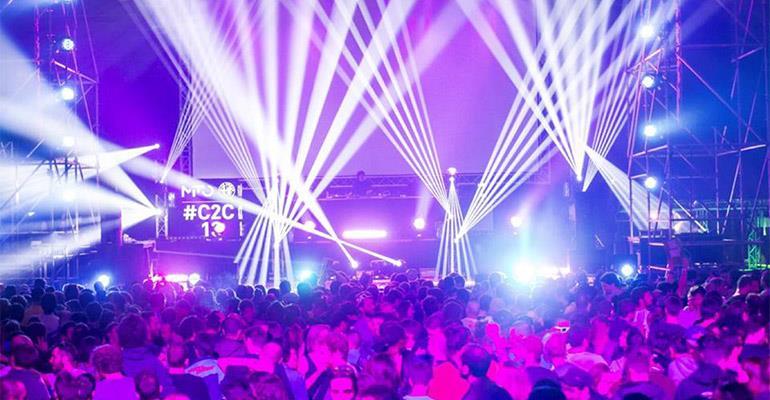 Il palco del Club To Club 2013 di Torino