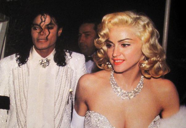 Michael Jackson con Madonna agli Oscar del 1991