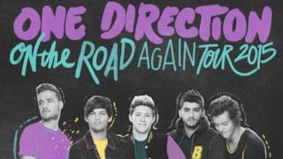 La locandina dell'On The Road Again Tour 2015