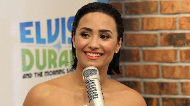 Primo piano di Demi Lovato