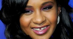 Primo piano di Bobbi Kristina Brown, la figlia di Whitney Houston