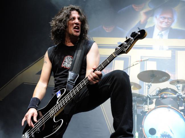 Il bassista degli Anthrax, Frank Bello
