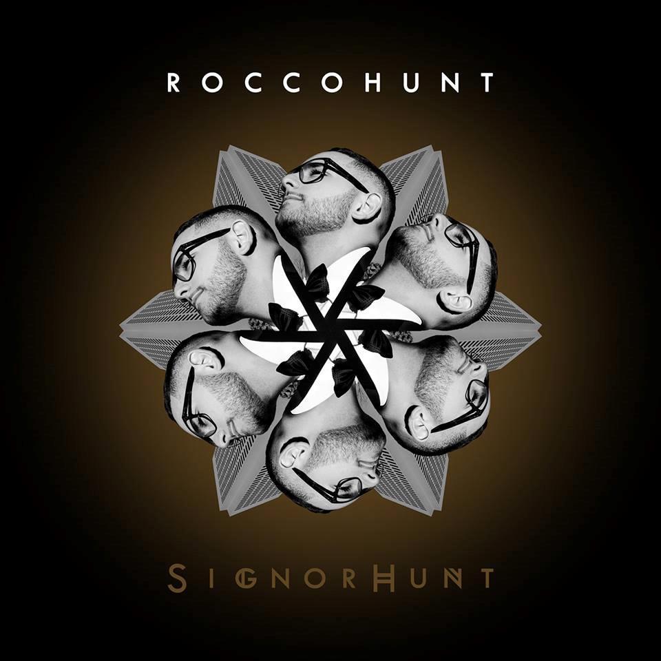 Rocco Hunt si moltiplica nella copertina del suo nuovo album SignorHunt